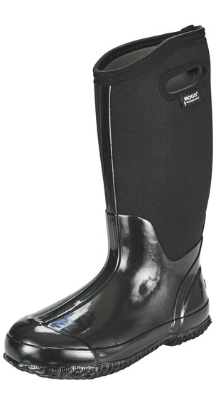 Bogs Classic High Rain Boots Women black shiny